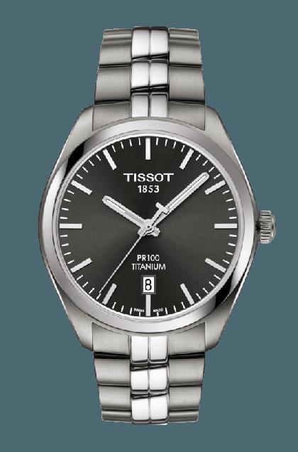 Tissot PR 100 Titanium Quartz Watch