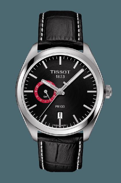 Tissot PR 100 Dual Time Watch