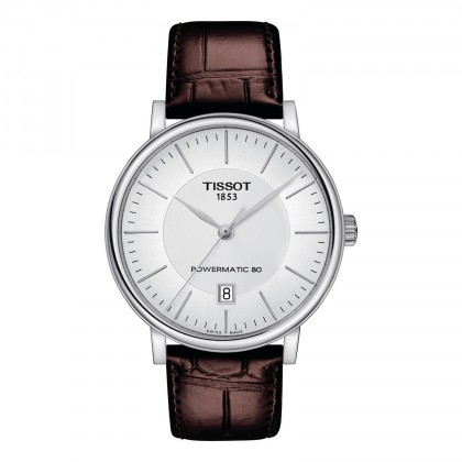 Tissot Carson Leather Strap 80hr Reserve Watch