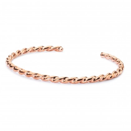 Twisted Copper Bangle S