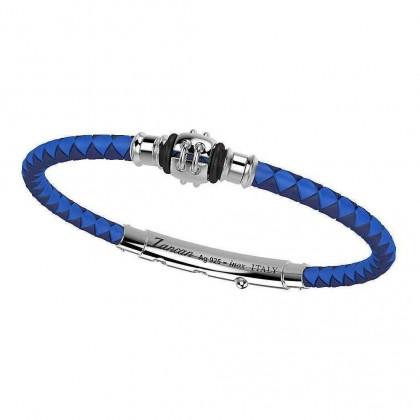 Zancan Silver & Stainless Steel Bracelet TSB027-BL