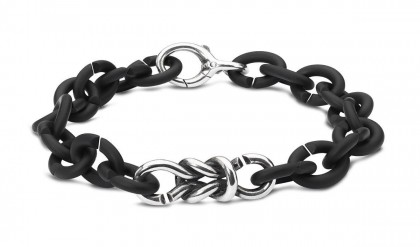 Lovers Bond Silver Bracelet