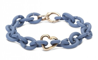 Denim Bronze Bracelet