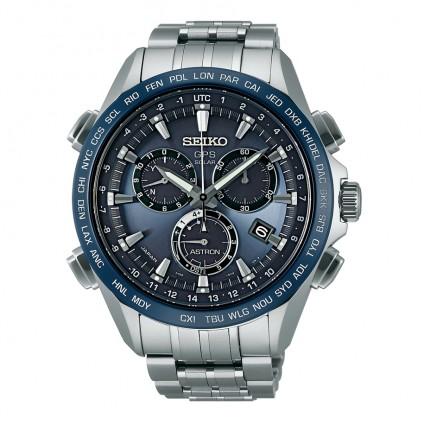 Seiko Astron 8x Titanium Blue Silver