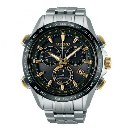 Seiko Astron 8x Titanium Black Gold