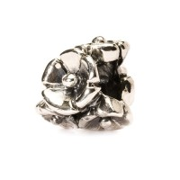 Trollbeads Forget-Me-Not Bead Silver