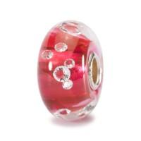 Trollbeads Universal Diamond Bead Pink